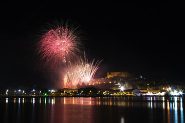 Fuegos artificiales en Peñíscola 13 septiembre de 2014 4