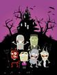 halloween hintergrund lustig poster vorlage