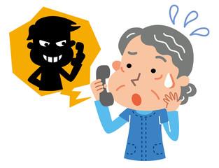 詐欺師 高齢者 女性