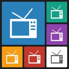 vintage tvtv icon