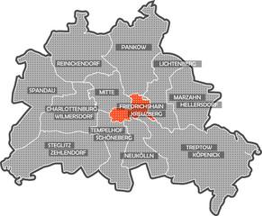 Berlin Friedrichshain Kreuzberg