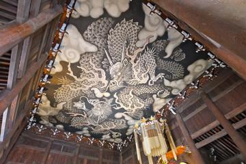 建仁寺 法堂 天井