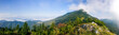 canvas print picture - Panorama of amazing summer mountain landscape - Slovakia