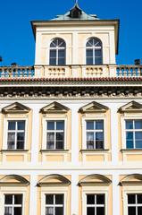 historical architecture in Prague, Czech republic