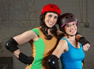 Happy Roller Derby Friends