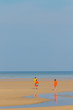 Leinwanddruck Bild - beach of Patong, Koh Phuket in Thailand