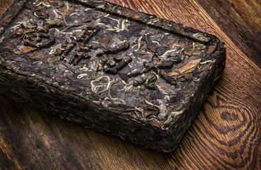 Brick of  Pu-erh Tea.
