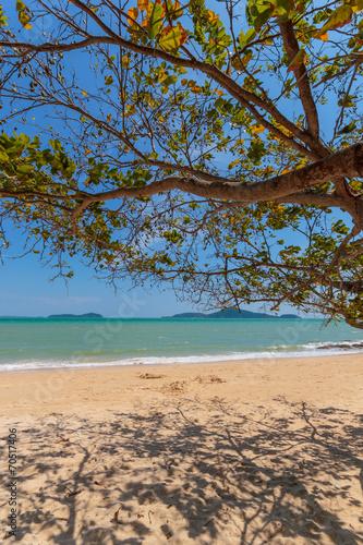 Leinwanddruck Bild beach of Patong, Koh Phuket in Thailand