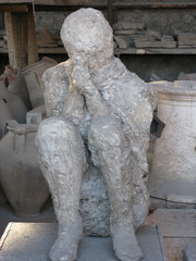 Pompeii men petrified
