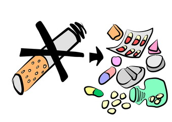 cartoon abuse of medications