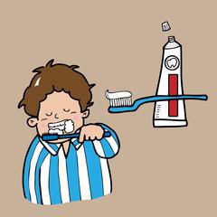 Boy tooth brush