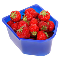 Delicious red strawberry