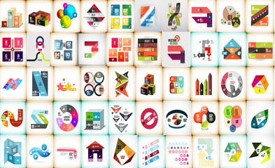 Infographic layouts mega collection