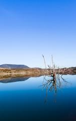 Embalse de Zahara lake, Grazalema national park, Spain