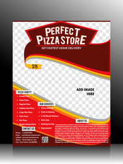 Perfect Pizza Store Flyer Template