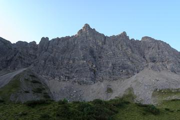 Nordwand der Lachenspitze
