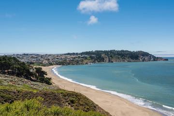 The beach of San Francisco
