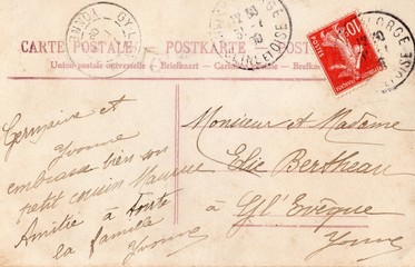 French Antique Postcard 1