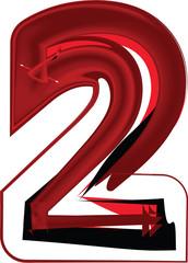 Artistic font number 2