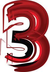 Artistic font number 3