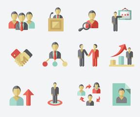 Human management icon