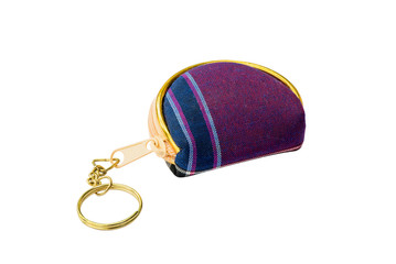 Mini purse isolated with clipping path