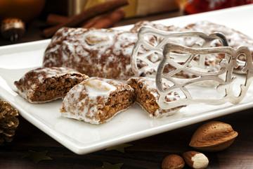 German Lebkuchen Christmas Cookies