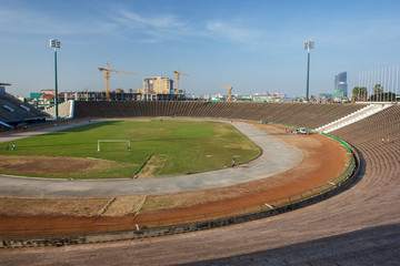View of Phnom Penh stadium