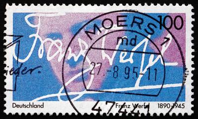 Postage stamp Germany 1995 Franz Werfel, Author
