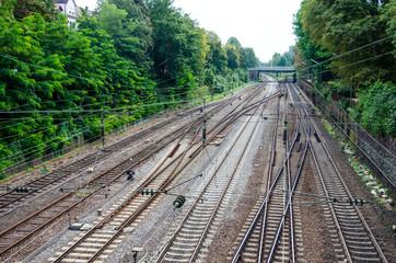 Railway in Offenburg