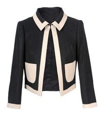black jacket isolated on white background