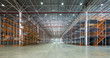 Leinwanddruck Bild - A big storage room