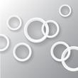 Abstract 3D Paper Circles