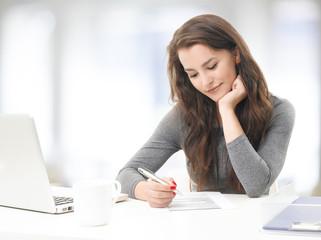 Businesswoman working
