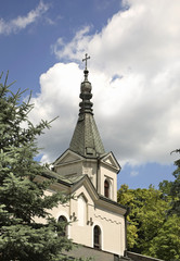 Church of St. George in Bilgoraj. Poland