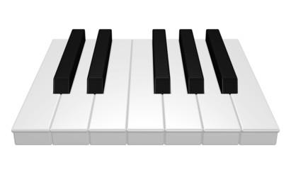Klaviertasten - Musik