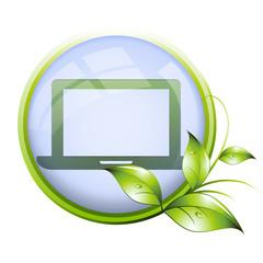 Icone naturel : ordinateur