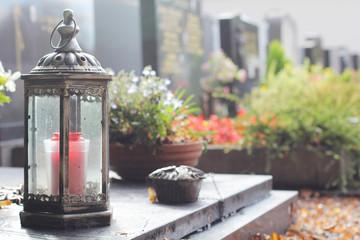 Übersicht Gräber Friedhof