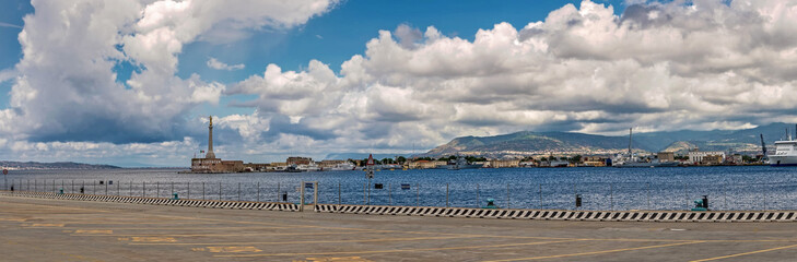 Port of Messina, Sicily.
