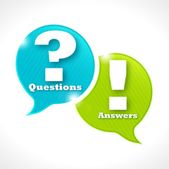 bulles rayées : questions ? answers !