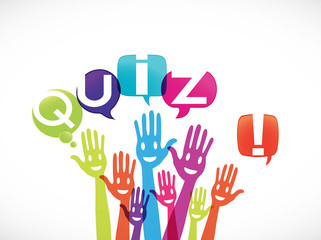 groupe mains souriantes : quiz