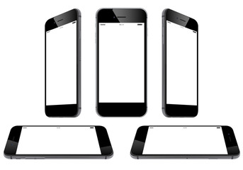 new smartphone collection - black