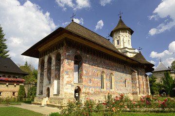 Moldovita Monastery - Church