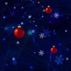 Snowflakes polygons