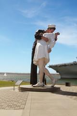 The Unconditional Surrender sculpture