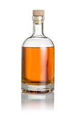 gefüllte Spirituosenflasche