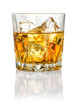 canvas print picture - Whisky on the rocks