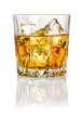 Leinwanddruck Bild - Whisky on the rocks