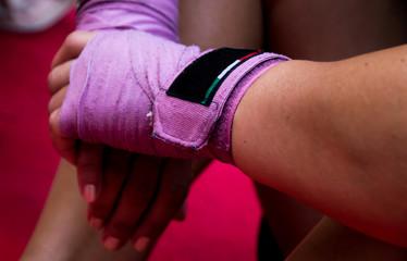 Donne combattenti - fasce da combattimento