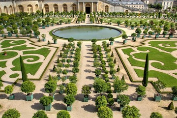 French green garden